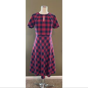 DRAPER JAMES Keyhole Dress